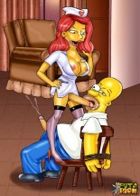 Famous shemale sex toons - Simpsons futanari