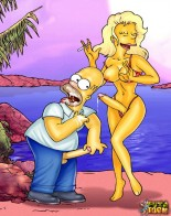 Famous Tgirls from TV-Toons - Simpsons futanari